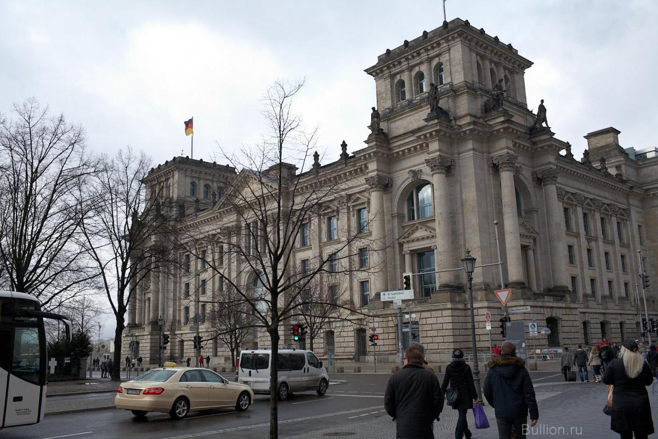 Бундестаг. Берлин. Февраль 2013